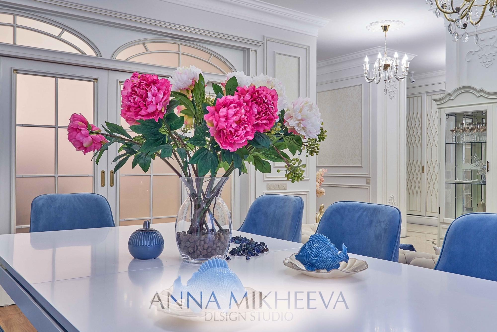 Интерьер гостиной 2018 года. В Астане. Фото.