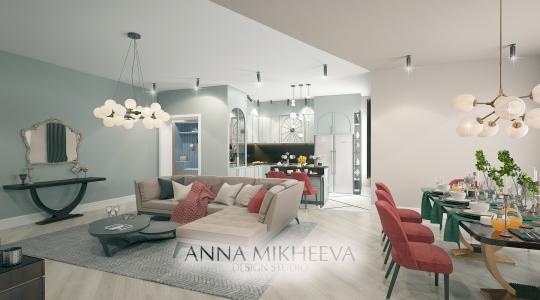 Дизайн гостиной в квартире