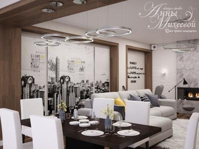 Квартира в ЖК Сана, 3 комнаты, 160м2