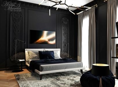 Темная спальня