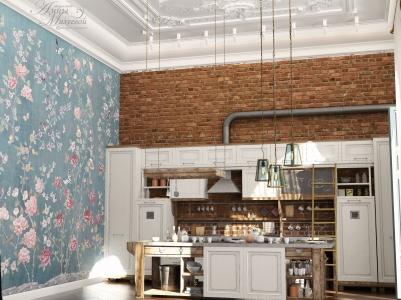Дизайн классики и лофта в Астане