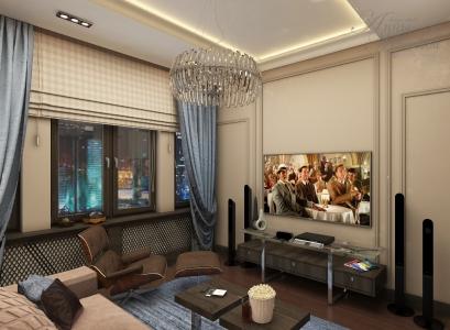 Дизайн квартиры в ЖК Лондон в Астане