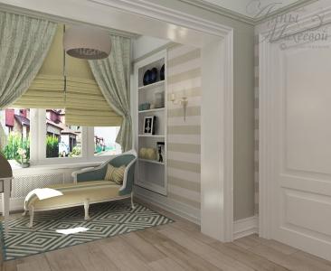 """Дизайн спальни в """"Bi Village Comfort-3"""" в Астане"""