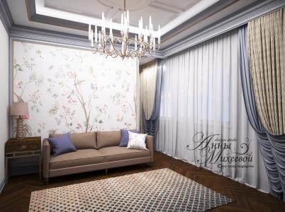 Дизайн небольшой спальни в Астане