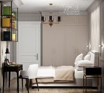 Дизайн спальни 10-12 кв м в Астане