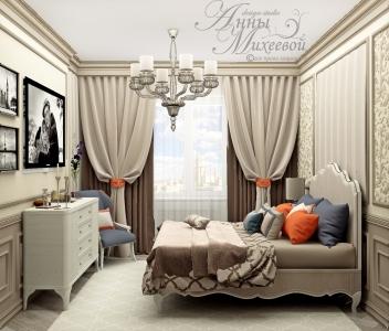 Дизайн маленькой спальни в Астане
