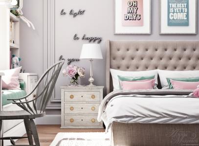 Спальня для девушки.