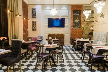 Дизайн кафе в Астане