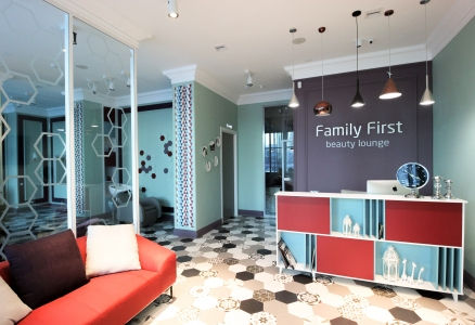 "Дизайн Салона красоты ""Family First"" , в Астане"
