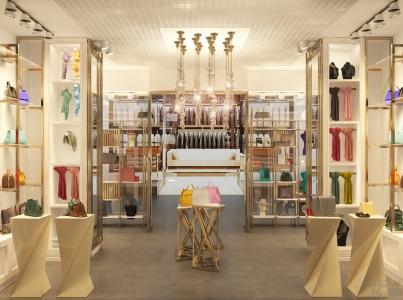 Дизайн женского бутика