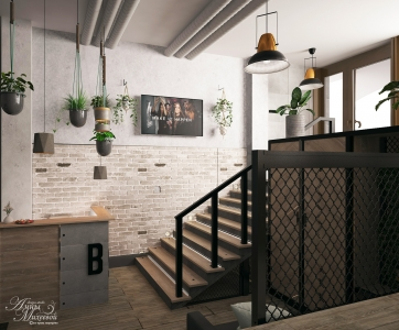 Дизайн салона красоты в Астане