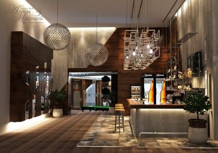Дизайн биллиардной в Астане