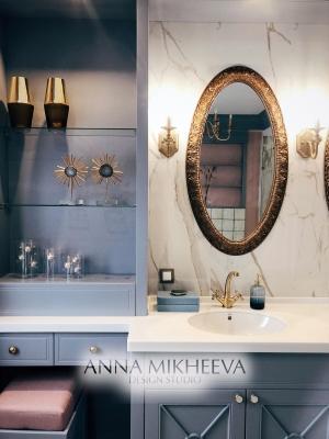 Интерьер ванной комнаты кафельная плитка