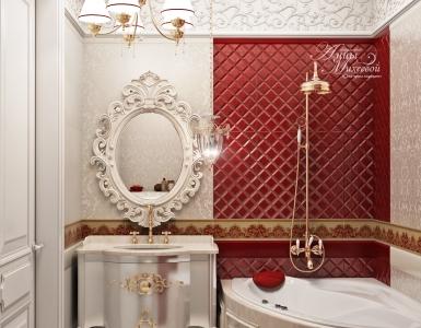 Ванная комната в ЖК Премьера