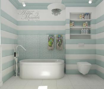 Ванна в частном доме