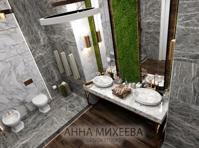 Дизайн ванны в хрущевке