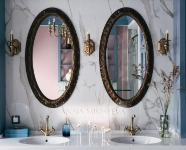 Интерьер ванной комнаты 2018 года