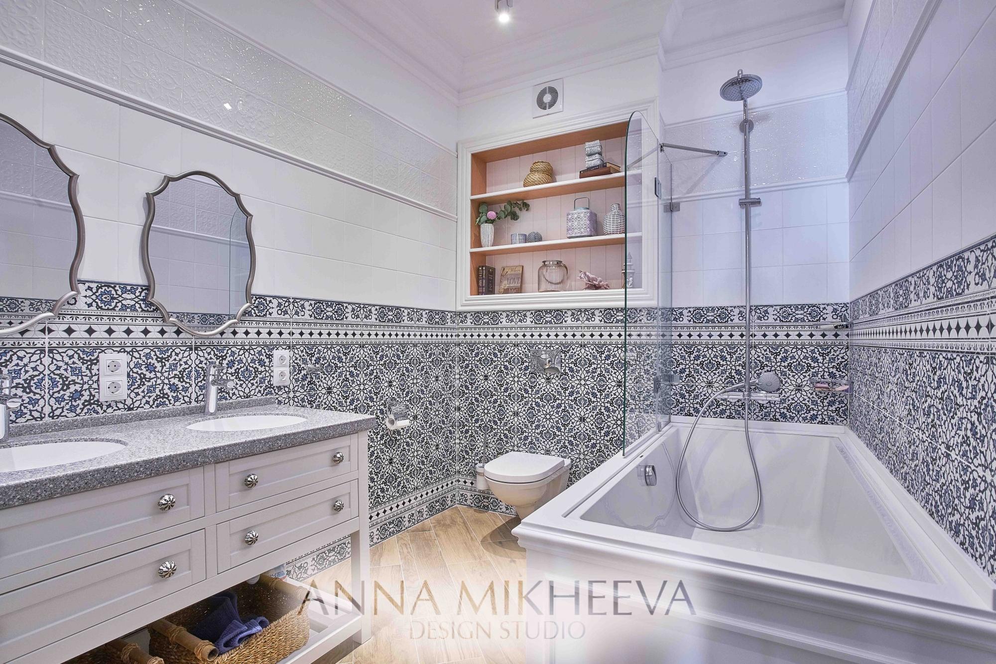 Интерьер ванной комнаты новинки
