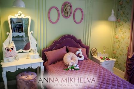 Дизайн детской для девочки