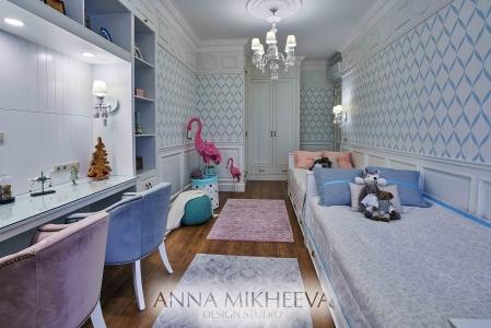 Детские комнаты 2018 года