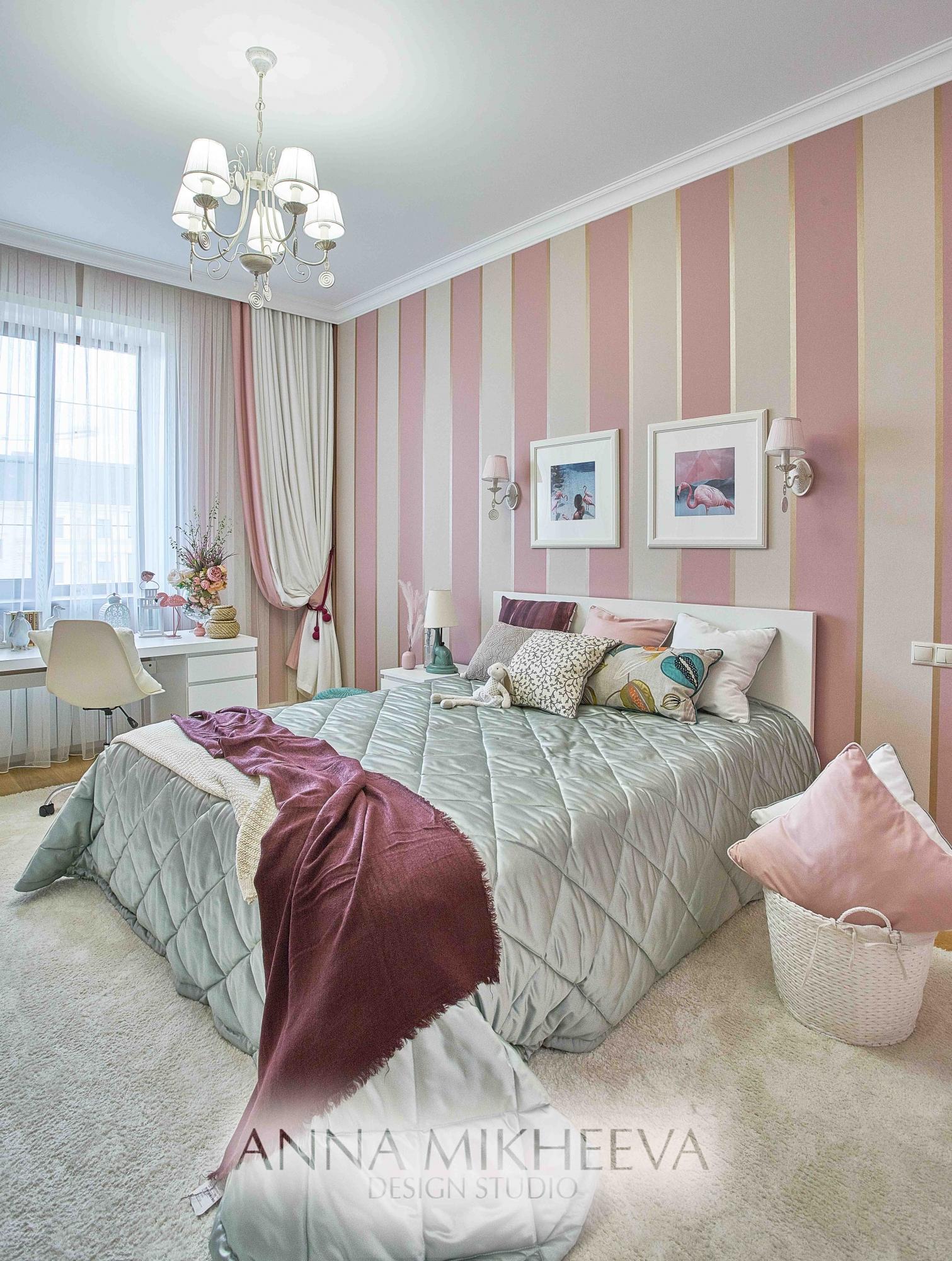 Дизайн детских комнат. В Астане. Фото.