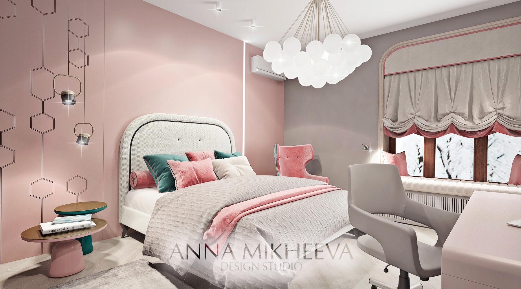 Дизайн комнаты для ребенка. В Нур-султане. Фото.