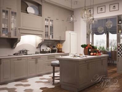 Дизайн кухни в панельном доме в Астане