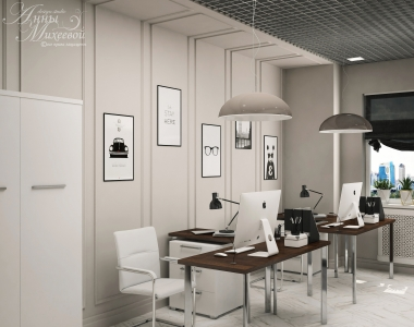 Дизайн офис компании в Астане