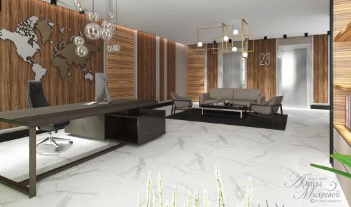 Дизайн офиса в Астане